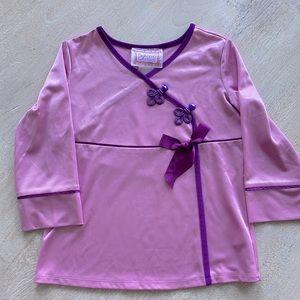 American Girl BeForever Rebecca's Satin Pajama Set